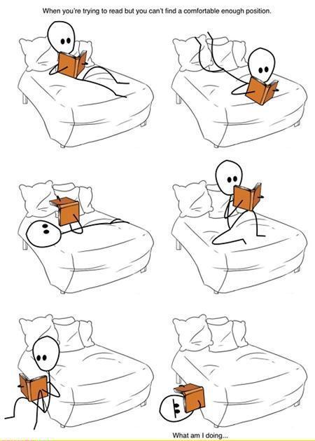 good and bad reading postures ho optometrist. Black Bedroom Furniture Sets. Home Design Ideas